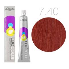 L'Oreal Professionnel Luo Color 7.40 (Блондин интенсивно медный) - Краска для волос