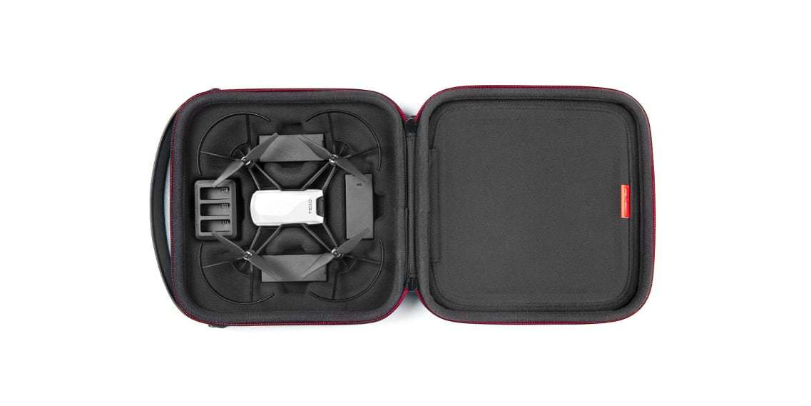 Кейс PGYTECH Carrying Case for TELLO открыт
