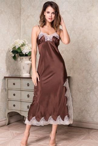 Длинная сорочка Mia-Amore 3108 MARILIN (70% натуральный шелк)
