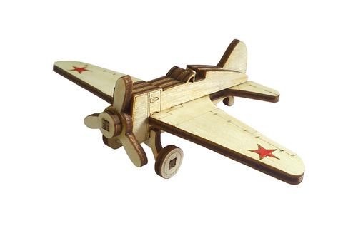 Конструктор Деревянный Lemmo - Модель - Набор самолеты И-15 и И-16