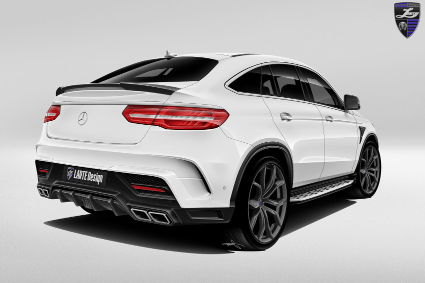 Обвес Larte Design для Mercedes GLE AMG 63 coupe