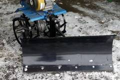 Снеговой отвал мотоблока Каскад-Нева усиленный