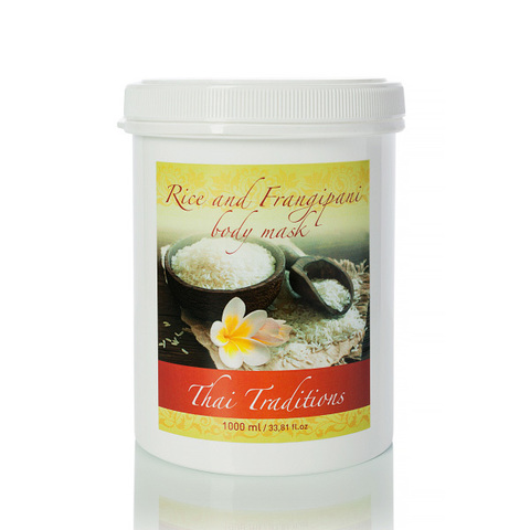 Thai Traditions Маска для тела Рис и Франжипани Rice and Frangipani body mask 1000мл