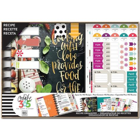 Набор для записи кулинарных рецептов Create 365 Planner Box Kit- 19,3 х 24,3см. - Cooking