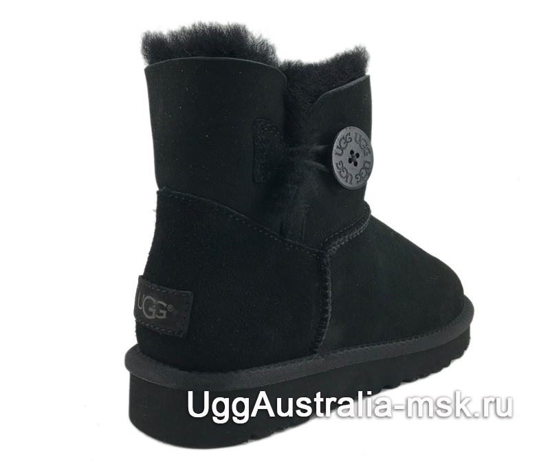 UGG Bailey Button II Mini Black
