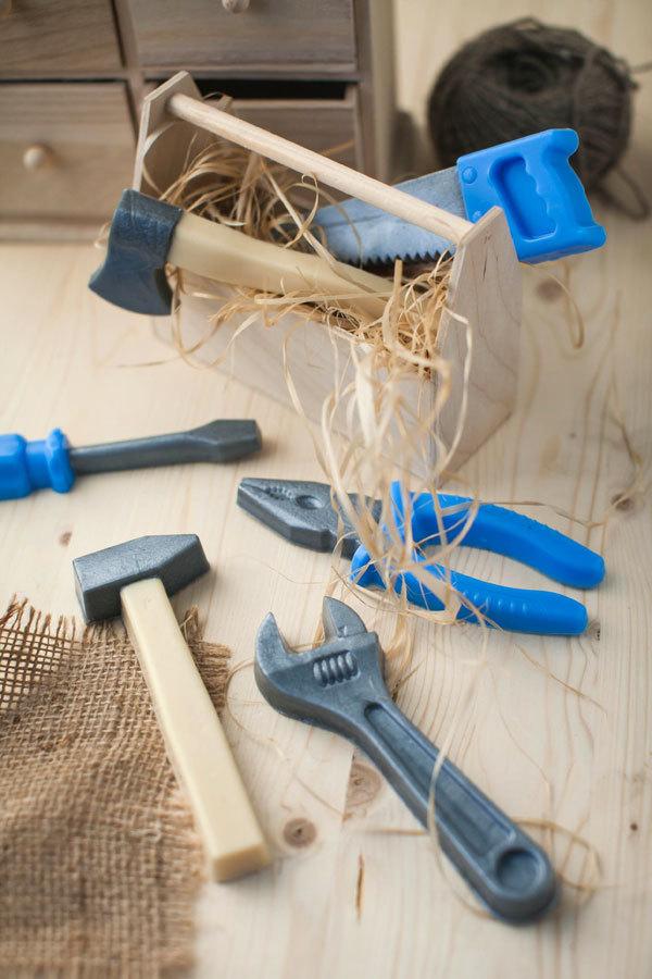 Мыло в виде инструментов. Форма Гаечный разводной ключ