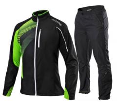 Костюм для бега Noname Pro Running Endurance черный-лайм