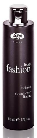 Разглаживающий крем для непослушных кудрявых волос - Lisap Fashion Straightener