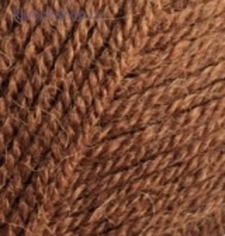 Пряжа Angora real 40 Alize 690 Кирпичный меланж - фото