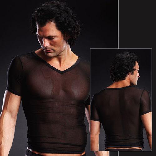 Мужское белье: Сетчатая футболка