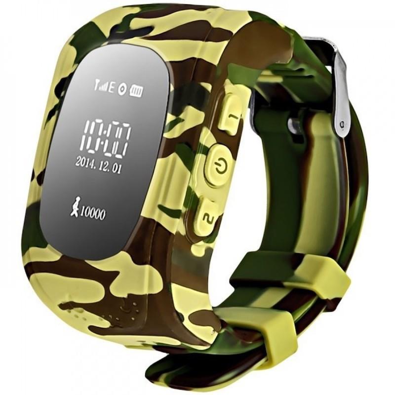 Хаки цветовой вариант часов Smart Baby Watch Q50