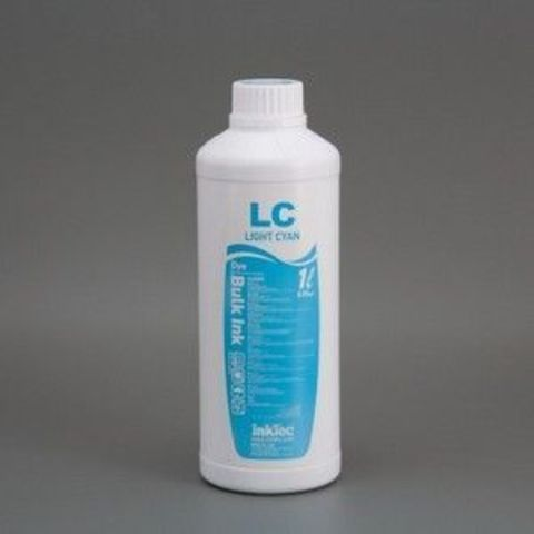 Чернила InkTec C908 /LC light cyan (светло голубой) Dye 1л.