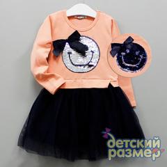 Платье (пайетки-перевёртыши)