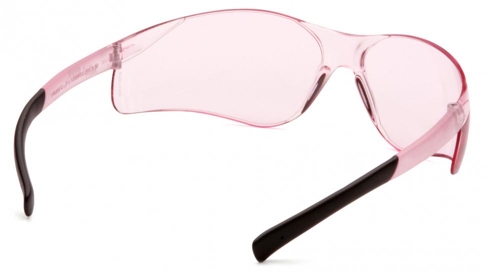 Очки баллистические стрелковые Pyramex Mini Ztek S2517SN розовые 82%
