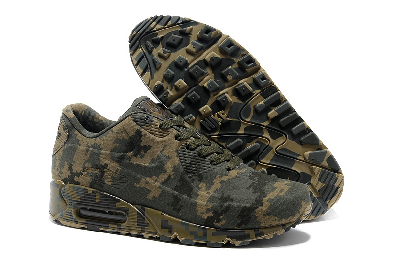 5ec59dec2233 ... Кроссовки женские Nike Air Max 90 VT Camouflage Military Dark. Артикул