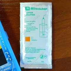 Калибровочная жидкость для pH метра Milwaukee pH 600