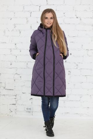 Куртка 2в1 для беременных 10803 фиолетовый