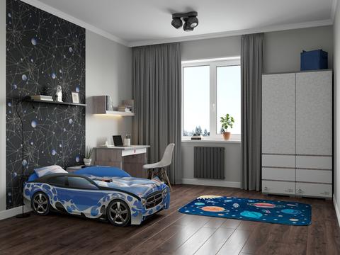 Кровать-машина объемная (3d)