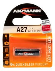 Батарейка ANSMANN A27 (12V) Premium