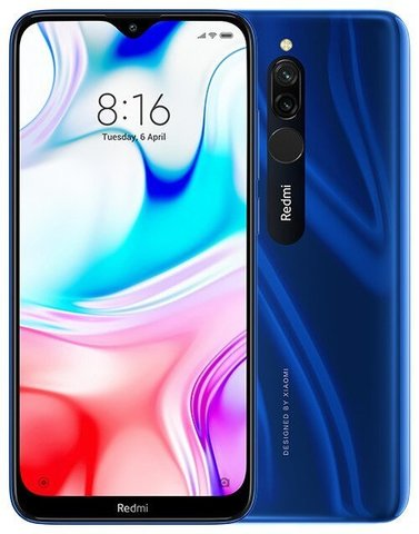Смартфон Xiaomi Redmi 8  4/64Gb Blue EU (Global Version)