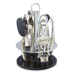 Набор кухонных принадлежностей 5шт и подставка Arcos Kitchen gadgets