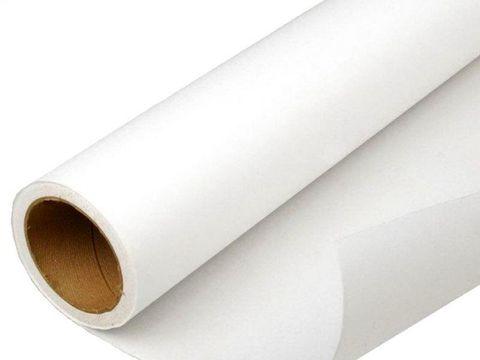 Рулон холст матовый (хлопок) - canvas: ширина 610 мм, длина 30 м, плотность 330 г/м2.