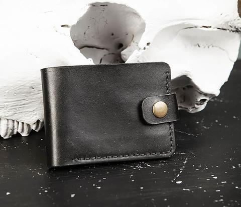 Мужское портмоне ручной работы с монетницей