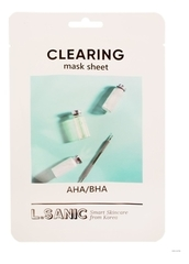 Тканевая маска для очищения пор лица AHA/BHA Clearing Mask Sheet 25мл