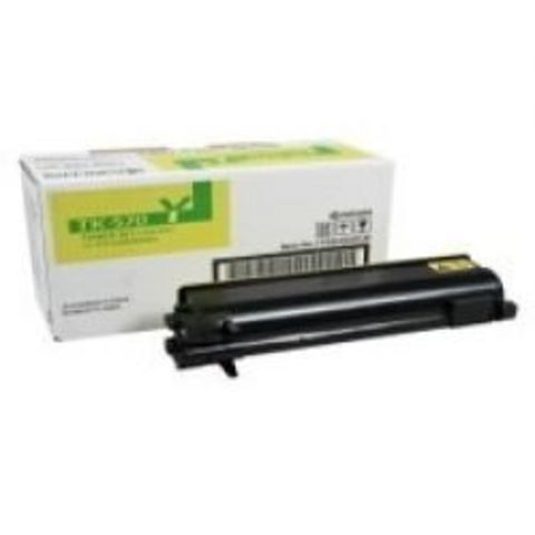 Kyocera TK-570Y - желтый тонер-картридж для принтеров Kyocera FS-C5400DN. Ресурс 12000 страниц.