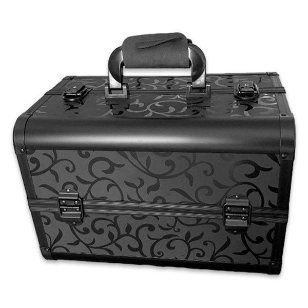 Бьюти кейс для косметики CWB7350 Black with pattern