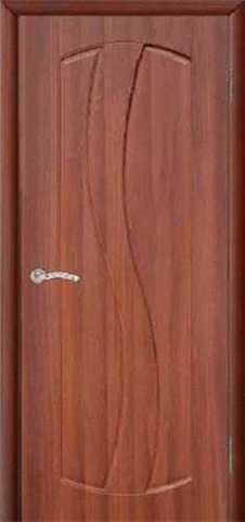 Дверь Сибирь Профиль Аврора, цвет итальянский орех, глухая
