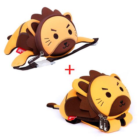 Рюкзак и поясная сумка в виде Льва