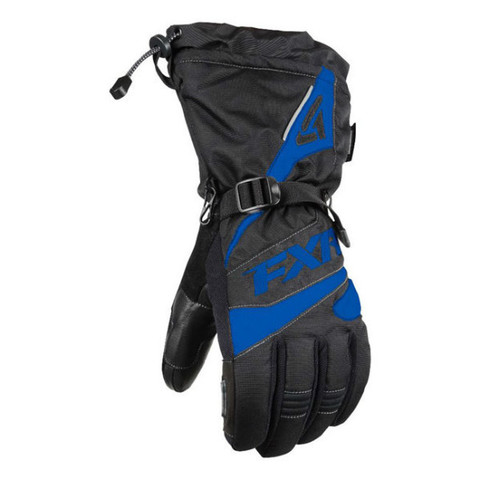 Перчатки FXR Fuel 15 Black-Blue