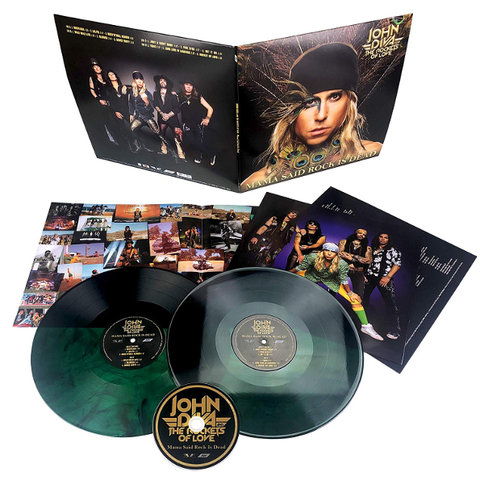 John Diva & The Rockets Of Love ‎/ Mama Said Rock Is Dead (Coloured Vinyl)(2LP+CD)