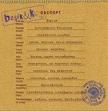 Паспорт кота Басика в красном свитере с петушком