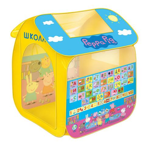 Игровая палатка «Учим азбуку с Пеппой», Peppa Pig