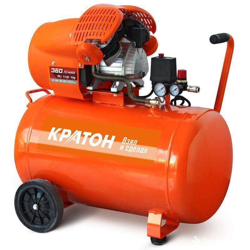 КРАТОН Компрессор с прямой передачей Кратон AC-360-100-DDV AC-360-100-DDV.jpg