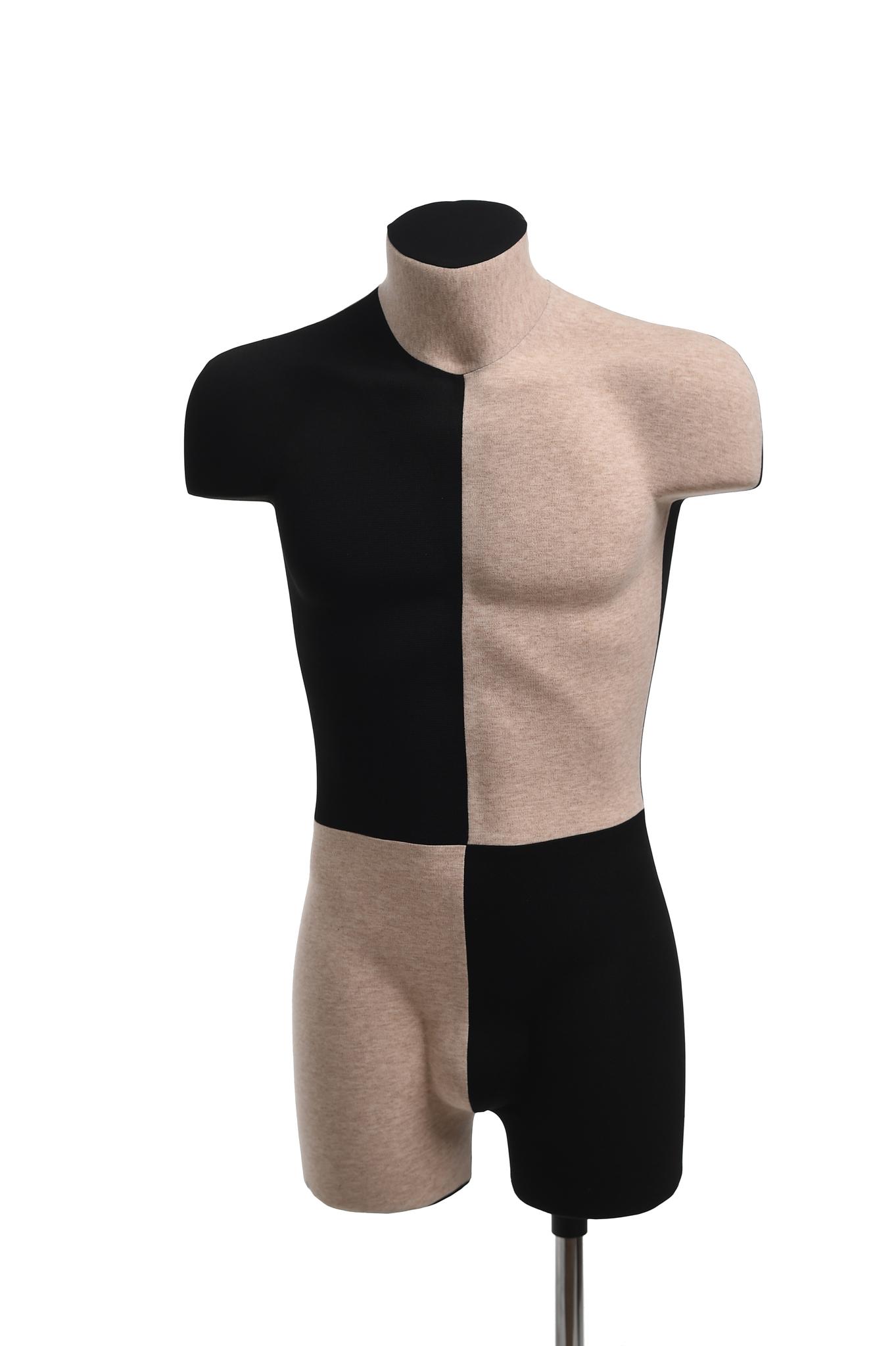 Демонстрационный мужской манекен 48 размер (домино)