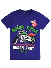 MK003F-30 футболка детская, темно-синяя