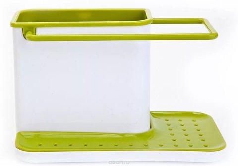 Удобный подвесной Подставка-органайзер для хранения хозяйственных п...