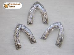 Мягкая заготовка Ушко серебряное (опт)