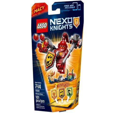 LEGO Nexo Knights: Мэйси – Абсолютная сила 70331 — Ultimate Macy — Лего Нексо Рыцари