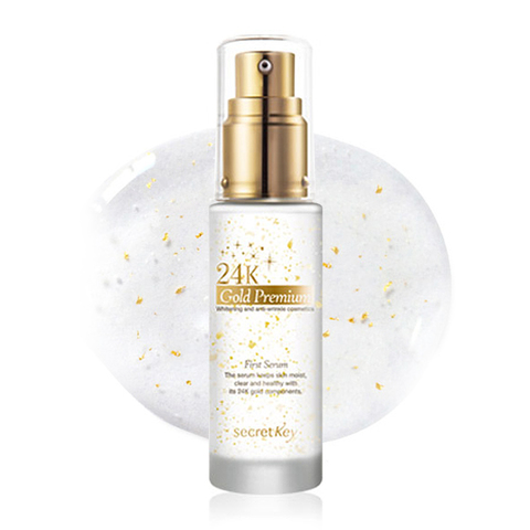 SECRET KEY  Gold Premium Сыворотка для лица 24K Gold Premium First Serum 30мл