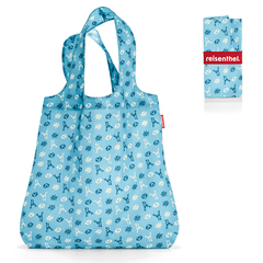 Сумка складная Mini maxi shopper bavaria denim Reisenthel