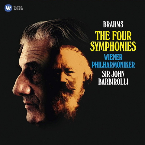 Vienna Philharmonic, Sir John Barbirolli / Brahms: The Four Symphonies (4LP)