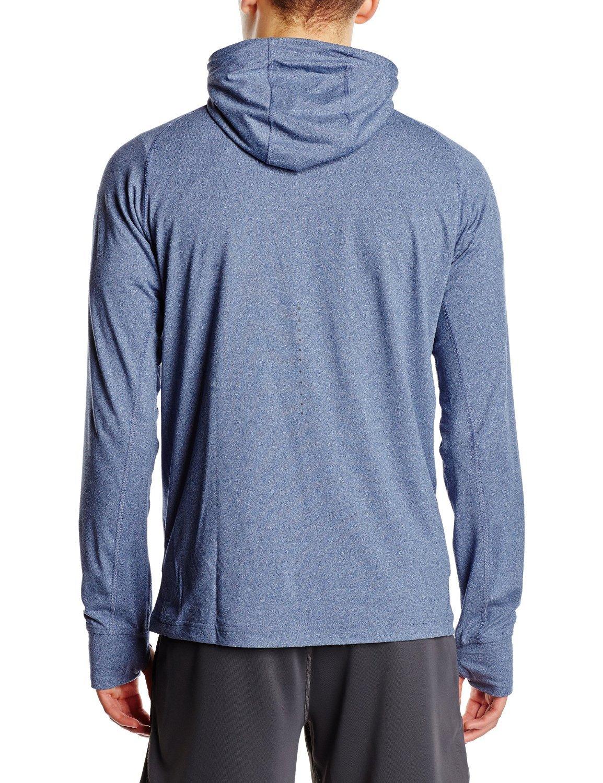 Мужская спортивная толстовка Asics Zip Hoody (124757 8118) серый