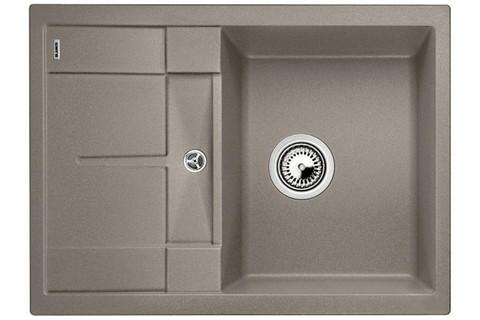 Кухонная мойка Blanco METRA 45S Compact, серый бежевый