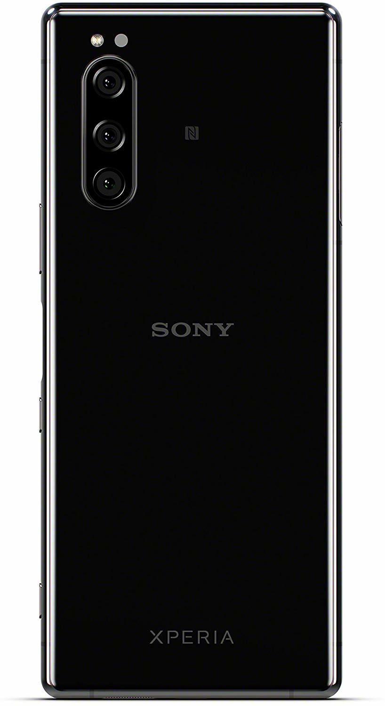 Смартфон Xperia 5 чёрного цвета
