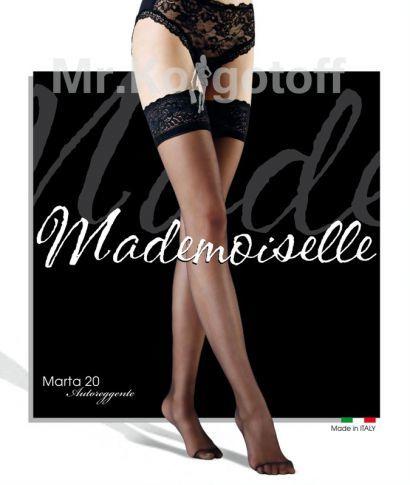 Чулки Mademoiselle Marta 20