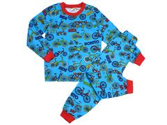 BK580K-9 пижама детская, синяя